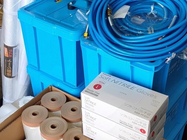 エアコン専用高圧機・洗剤での品質