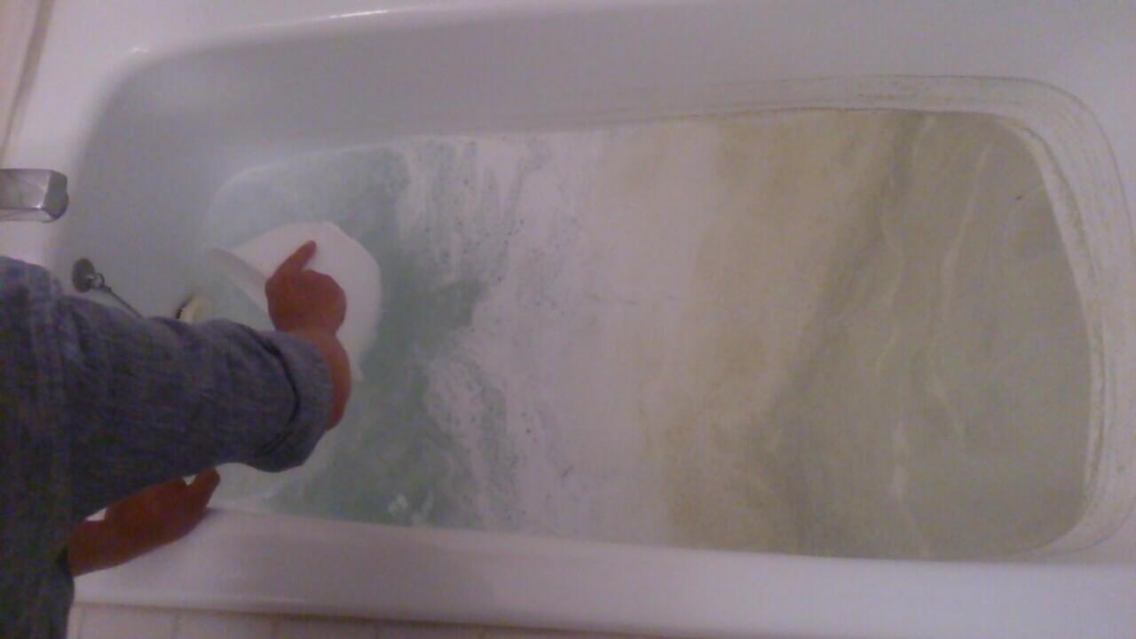 入浴でお肌はきれいになるけど、配管は雑菌だらけ